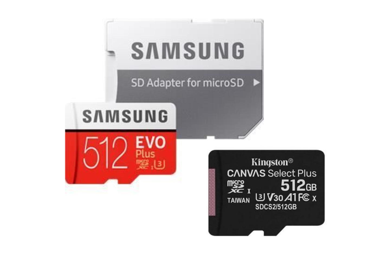 Cdiscount propose des microSD de 512Go à seulement 69euros pour les soldes