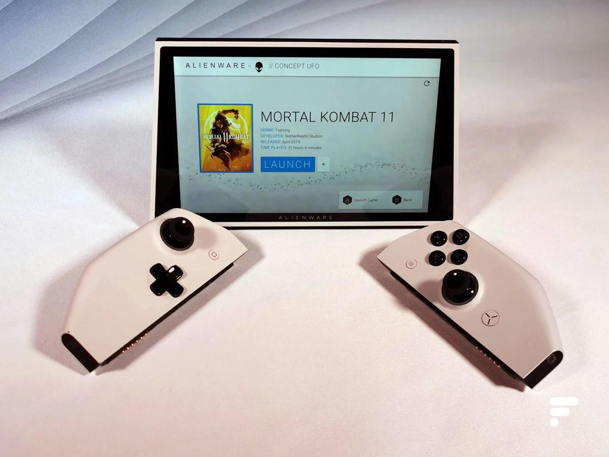 Prise en main de l'Alienware Concept UFO : le PC format Nintendo Switch