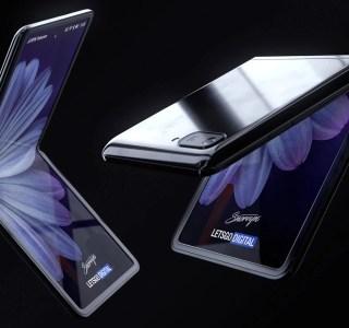 Le Samsung Galaxy Z Flip protégerait bien son écran pliable avec du verre