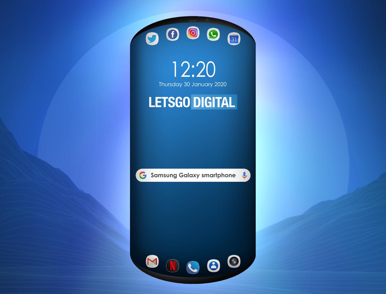 Samsung imagine un smartphone avec trois écrans en façade