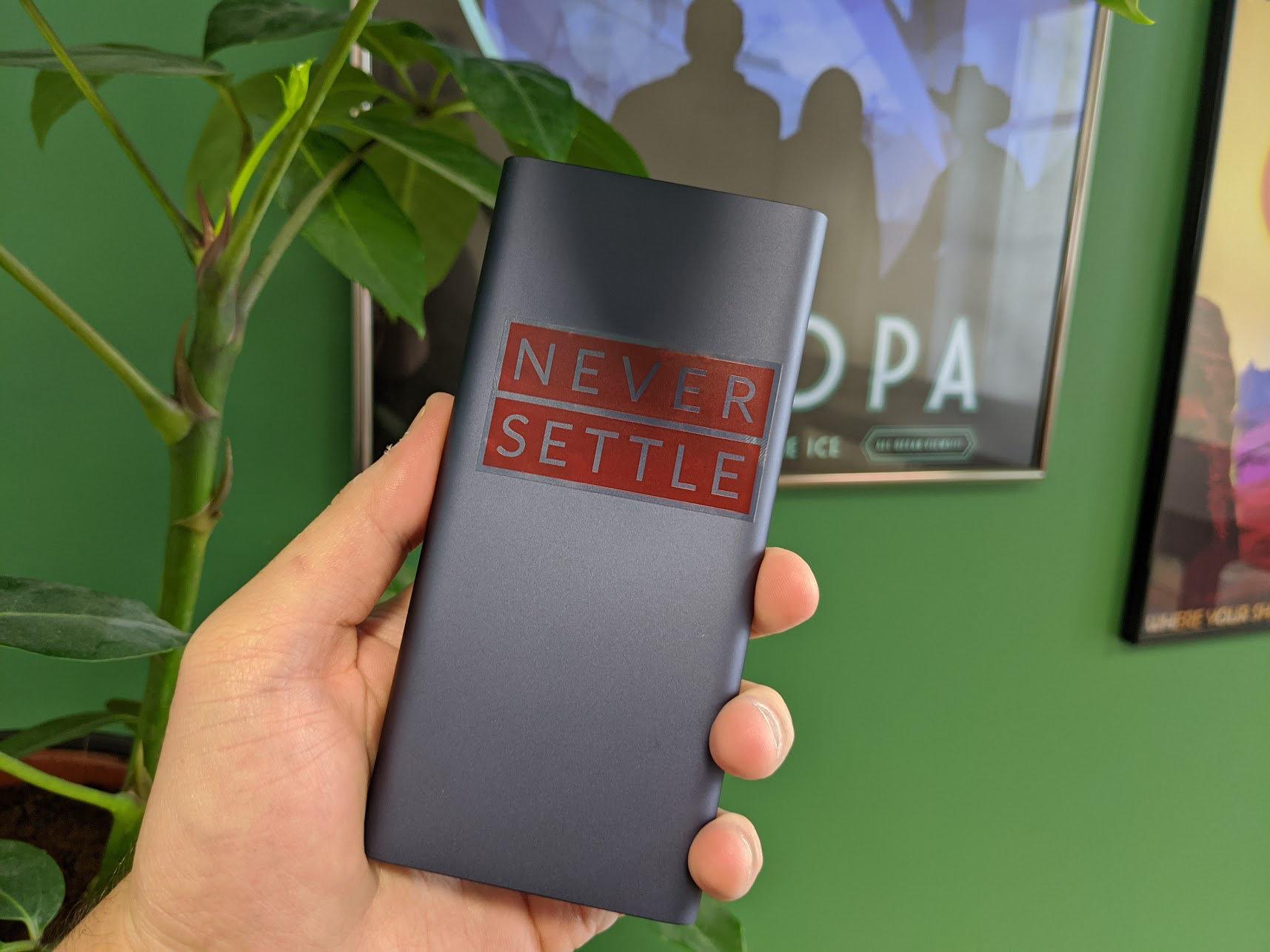 OnePlus prépare une batterie externe avec charge rapide