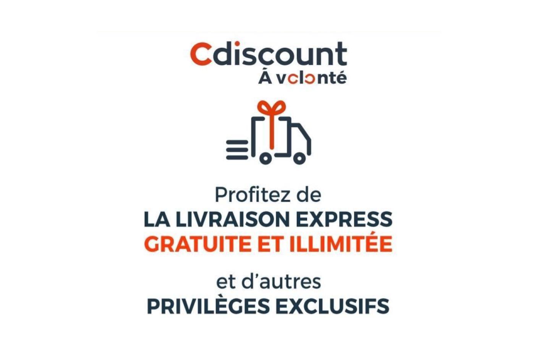 Cdiscount à volonté: livraison gratuite et illimitée pour 0,75euro par mois