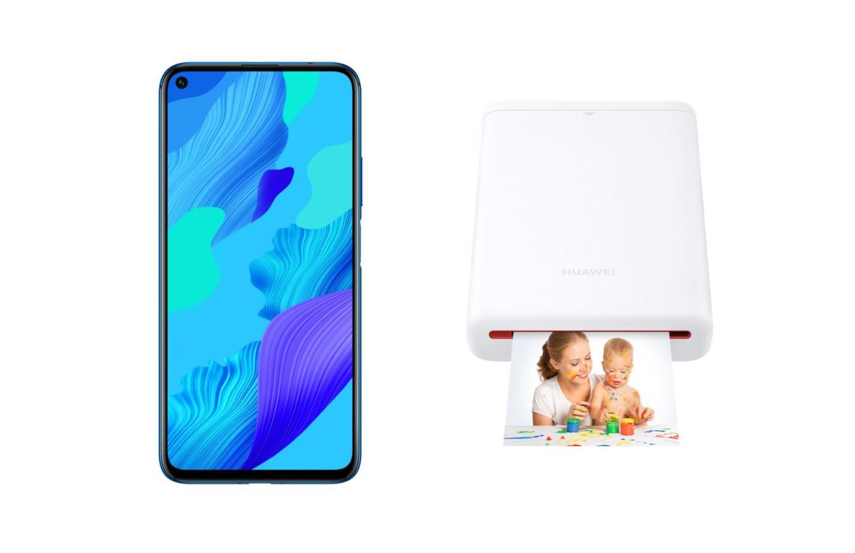 Le Huawei Nova 5T en promo avec une imprimante portable offerte