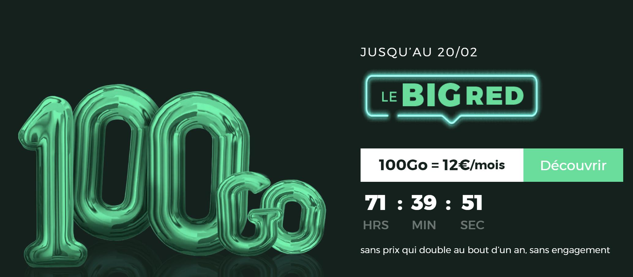 Vente privée : 3 jours pour le meilleur forfait mobile 100 Go de 2020