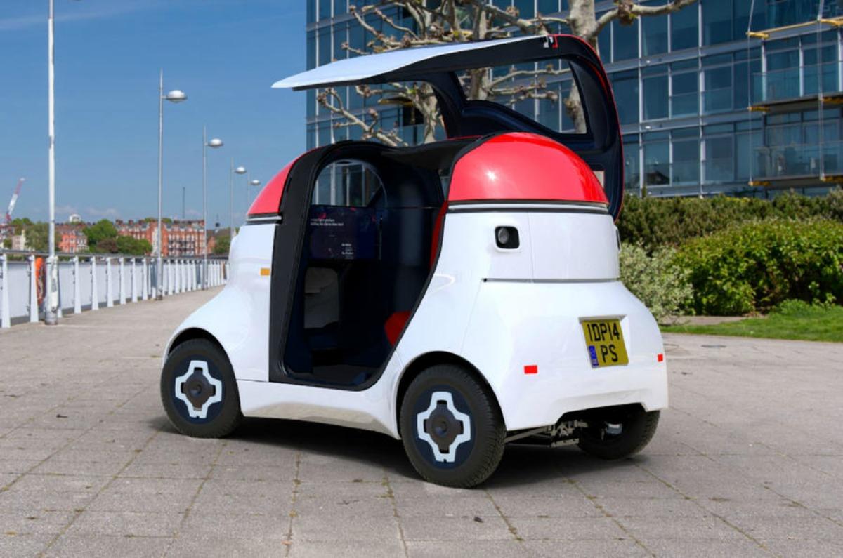 MOTIV : électrique et autonome, cette voiturette veut s'inviter en ville pour le dernier kilomètre