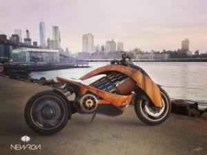 Newron EV-1 : française et électrique, cette splendide moto ne s'arrachera qu'à douze exemplaires