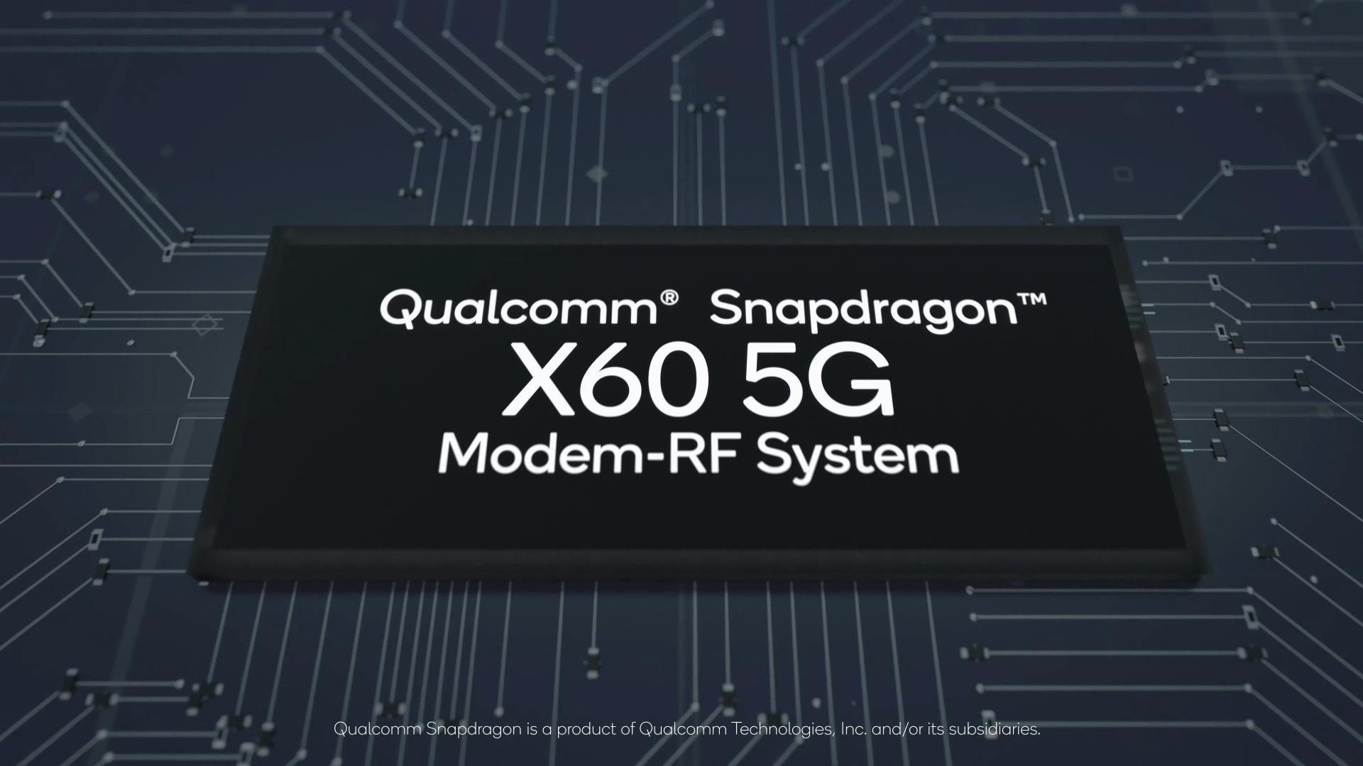 Qualcomm Snapdragon X60: le modem 5G que vous allez vouloir dans votre smartphone