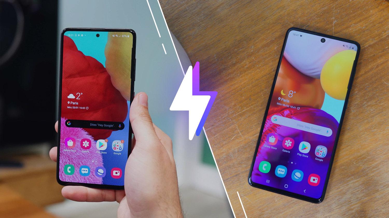 Samsung Galaxy A51 vs Galaxy A71 : lequel est le meilleur smartphone ?
