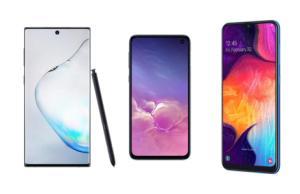 Galaxy Note 10, S10e ou A50 : le TOP des smartphones Samsung en déstockage avec ce code exclusif