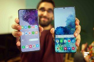 Samsung Galaxy S20 : nos mesures d'écran et de performances