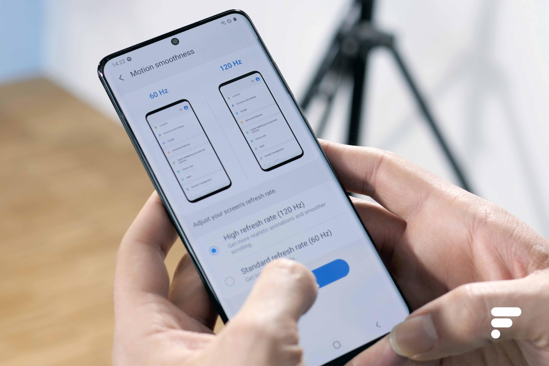 Samsung Galaxy S20 : définition QHD ou rafraichissement 120 Hz, il faut choisir