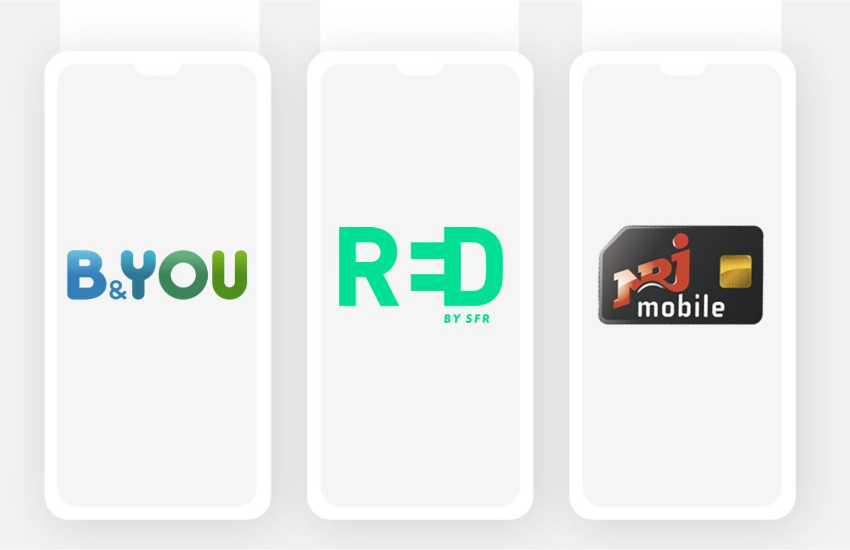 Forfait mobile: le TOP3 des offres sans engagement via RED, B&You et NRJ mobile