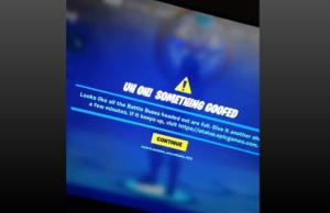 Fortnite n'est plus accessible pour certains joueurs, Epic Games sur le coup