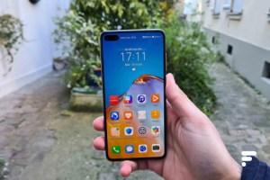 Prise en main du Huawei P40: un format génial pour combler l'absence de Google