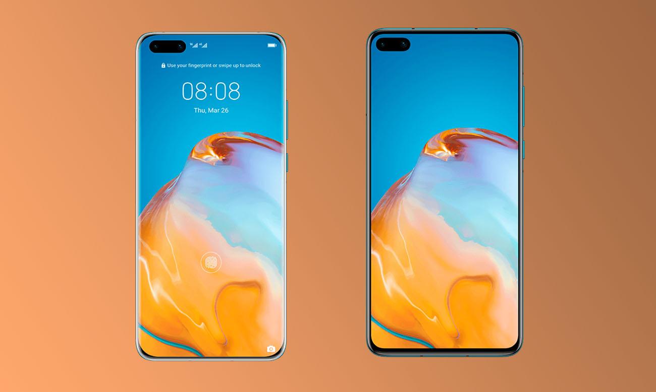 Huawei P40 et P40 Pro: jouez aux sept différences entre leurs designs