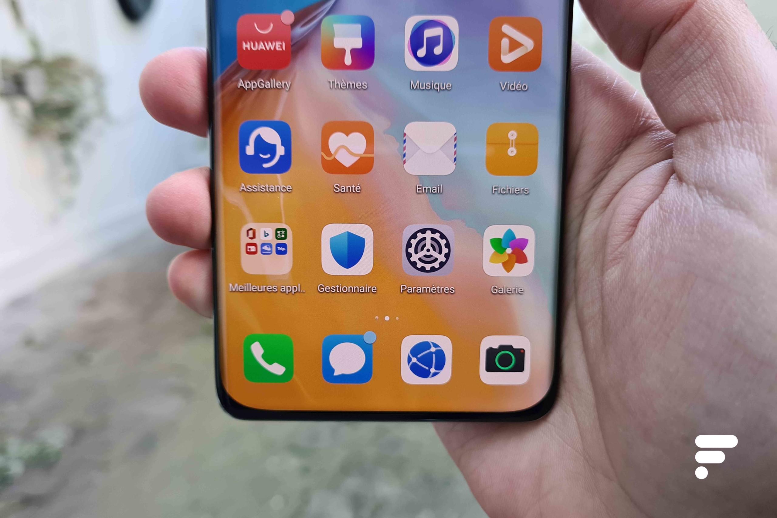 Huawei P40 : à défaut de Google, vos recherches passeront par Qwant