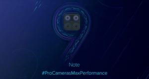 Xiaomi Redmi Note 9: date de sortie révélée et quatre capteurs photo arrière au programme