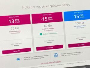 Nouveau forfait mobile sans engagement ni limite de temps : 75 Go de 4G+ pour 13,99 euros