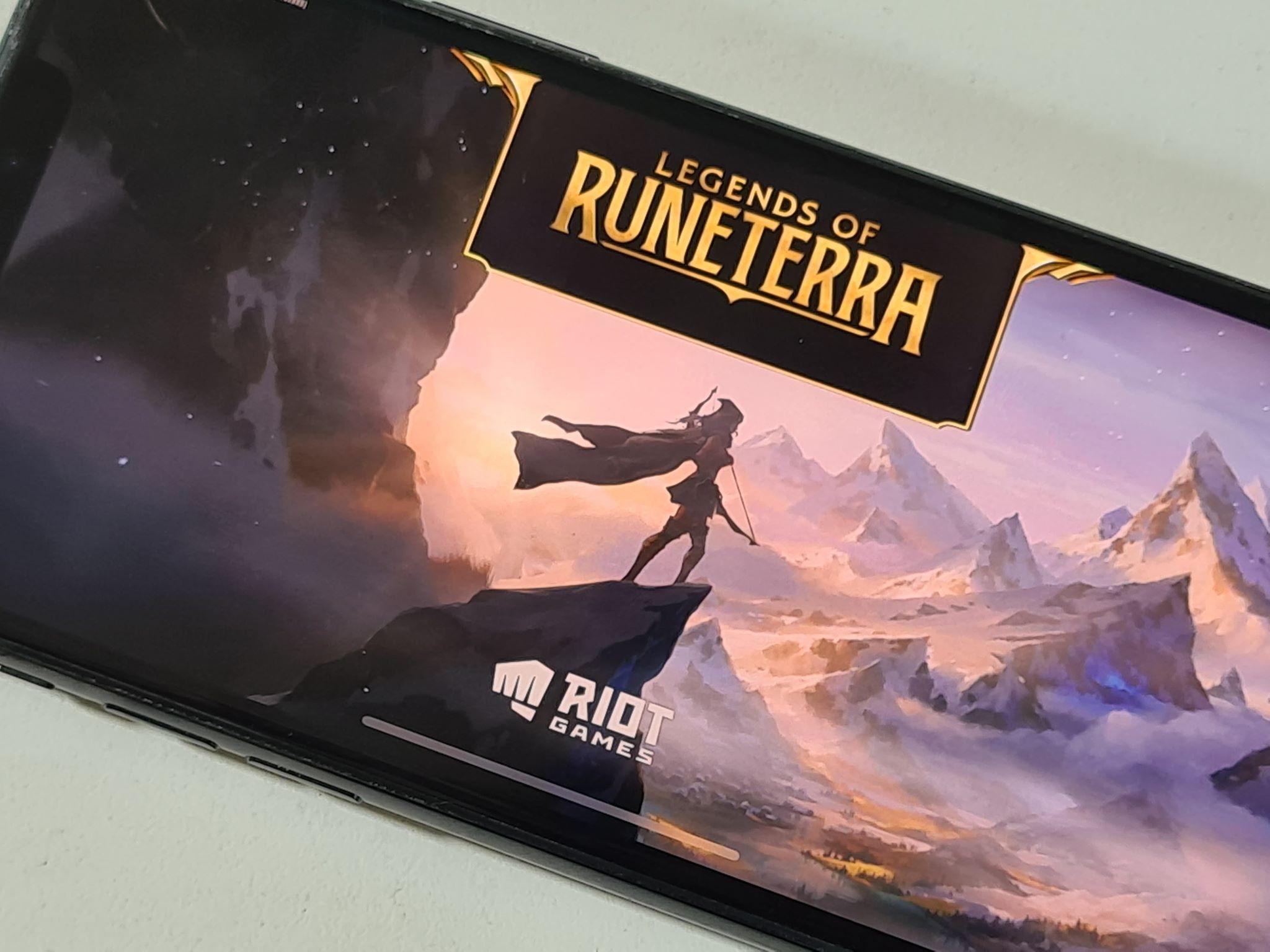 Dans l'univers de League of Legends, Legends of Runeterra débarque sur Android et iPhone