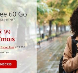 Free mobile : l'opérateur est de retour avec son forfait 60 Go à 9,99 euros