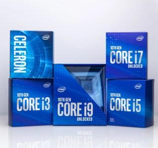 Voici la 10e génération d'Intel Core Comet Lake : 32 processeurs pour PC de bureau