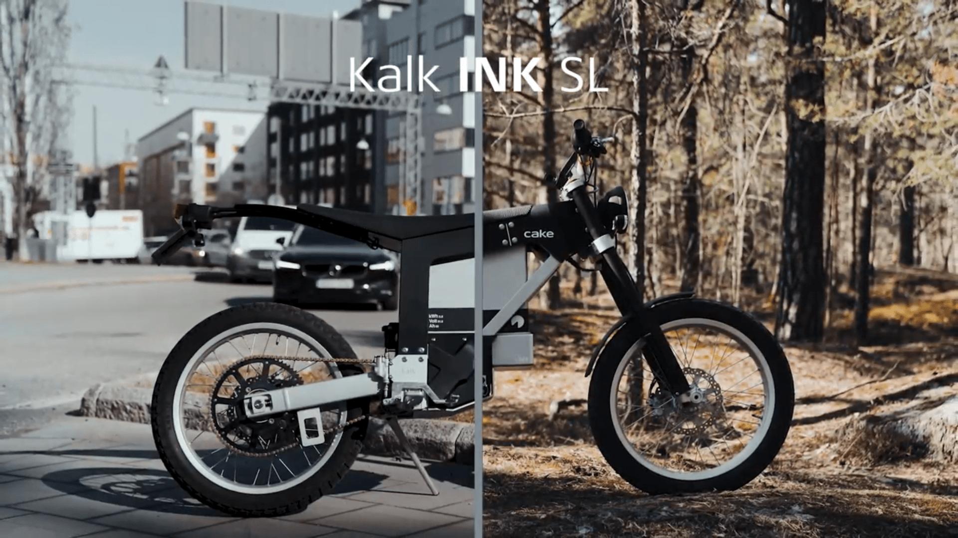 Kalk INK SL : cette copie conforme de la moto électrique Kalk& se veut bien moins chère