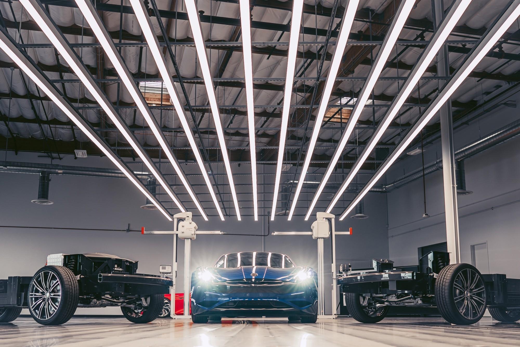 Karma révèle sa Revero GTE, une berline électrique avec plus de 600 km d'autonomie
