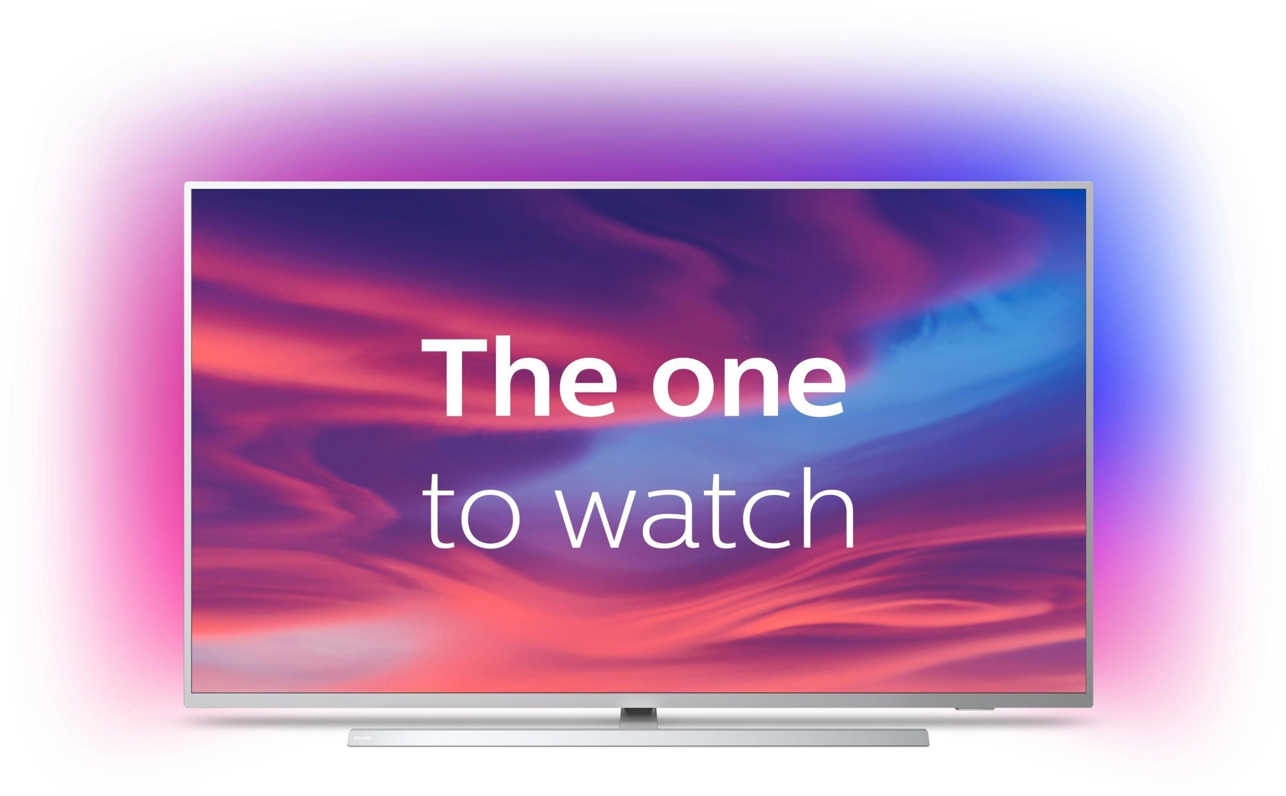 La TV 58 pouces Philips The One 4K avec Ambilight passe sous les 700 euros