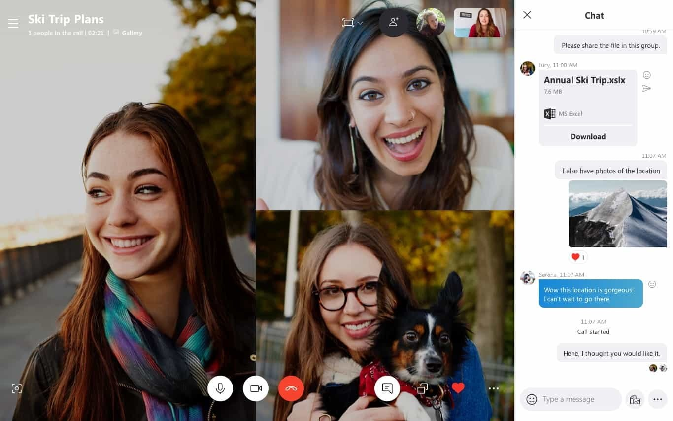 Confinement : Skype permet de créer des visio simplement, sans compte et sans installation