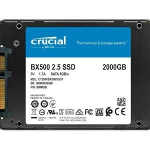 Moins de 10 centimes le Go pour le SSD Crucial BX500 d'une capacité de 2 To