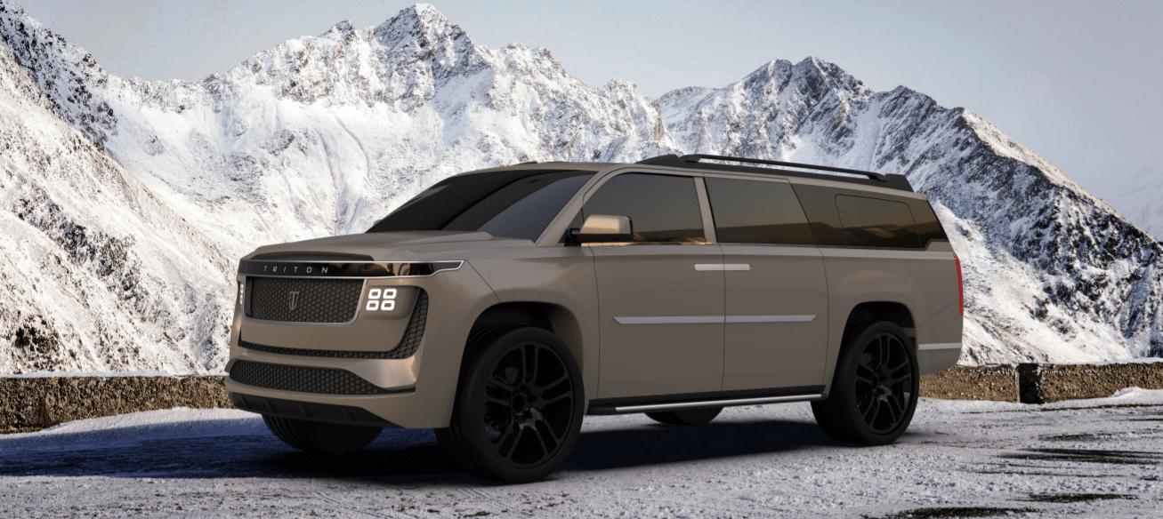 Triton Model H: plus de 1000 km d'autonomie pour ce colossal SUV électrique de 8 places