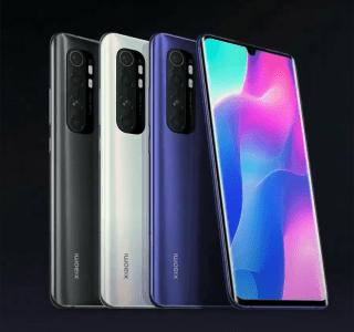 Xiaomi Mi Note 10 Lite lancé en France : tout pour l'appareil photo, mais à prix réduit