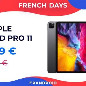 Première baisse de prix pour l'iPad Pro 11 2020 lors des French Days