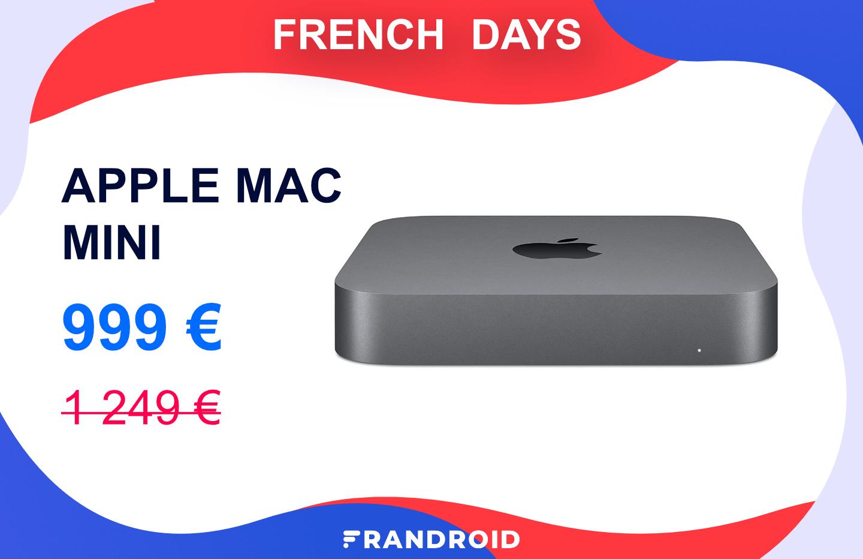 Le nouveau Apple Mac Mini est déjà à prix très réduit pour les French Days