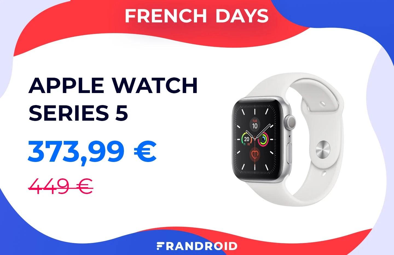 L'Apple Watch Series 5 baisse enfin de prix pour les French Days