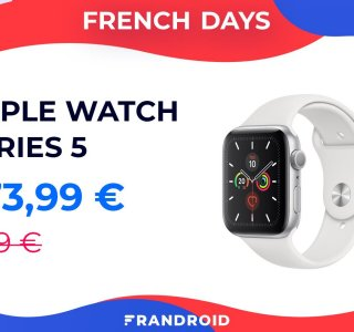 L'Apple Watch Series 5 baisse enfin de prix pour les French Days