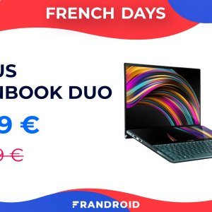 L'Asus ZenBook Duo UX481 i5 se dégotte un excellent prix pendant les French Days