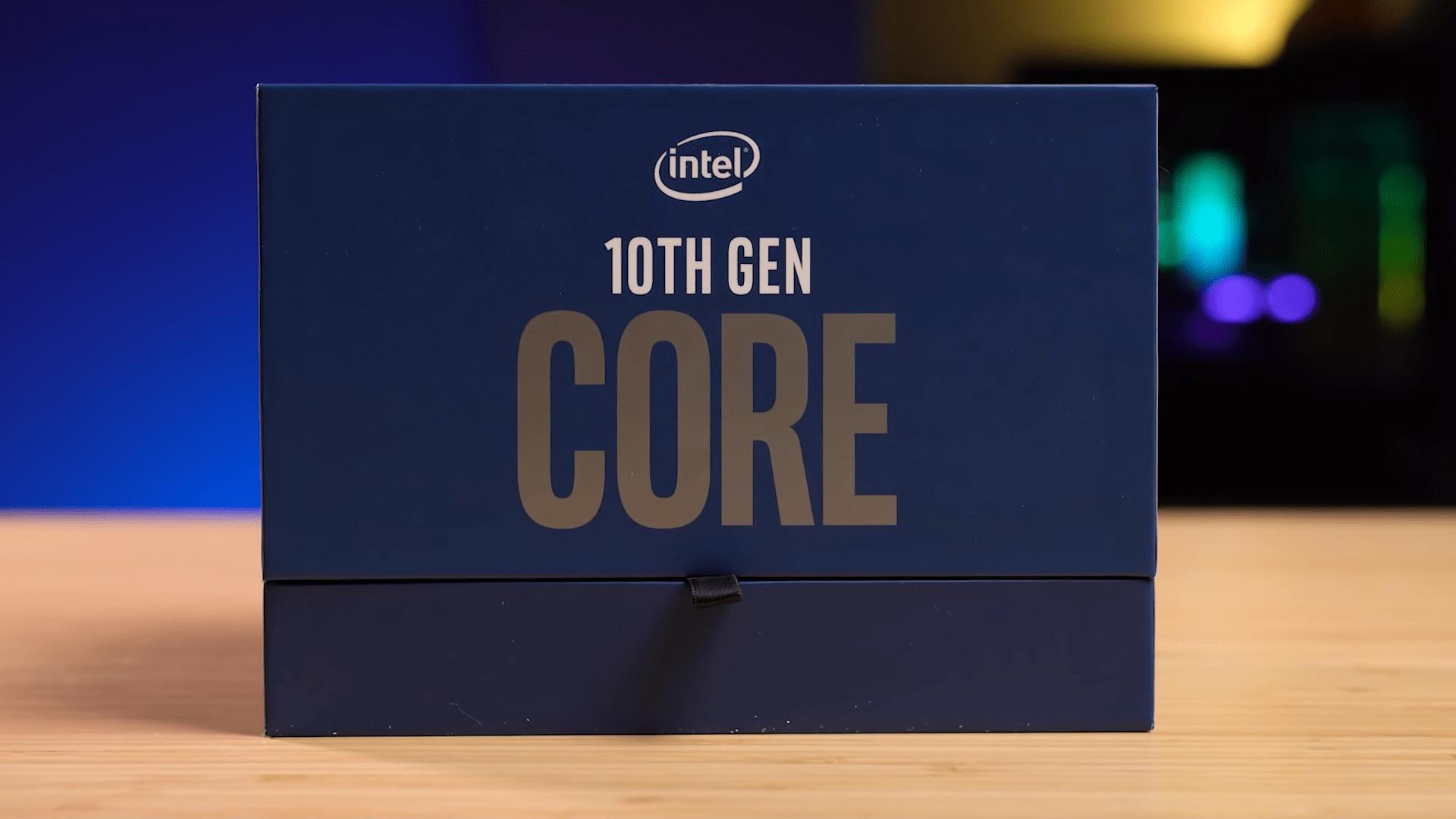 Comet Lake-S : que vaut la 10ème génération d'Intel Core ? Passage en revue des tests