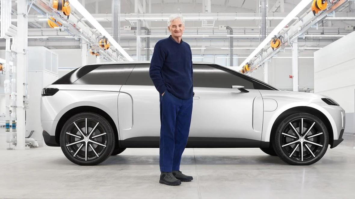 Dyson N526: le projet abandonné de voiture électrique à un demi-milliard d'euros en photos