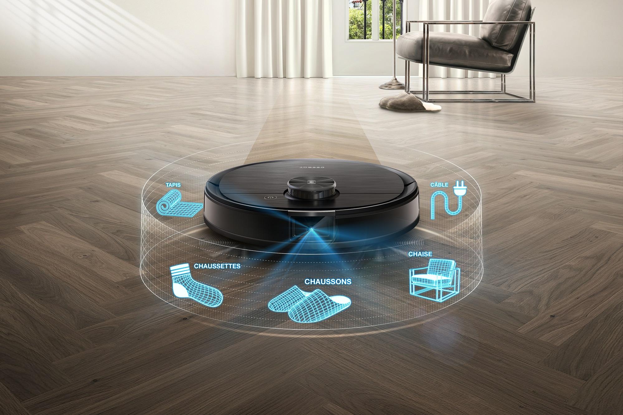 Ecovacs Deebot Ozmo T8 Aivi : l'aspirateur-robot qui surveille aussi votre maison