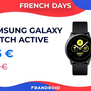 Une belle réduction de 100 euros pour la  Samsung Galaxy Watch Active