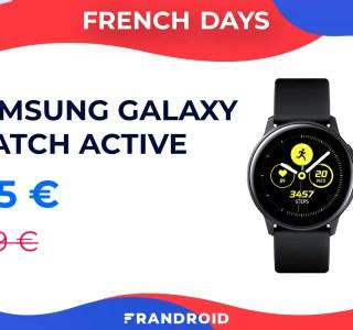 Une belle réduction de 100 euros pour la  Samsung Galaxy Watch Active