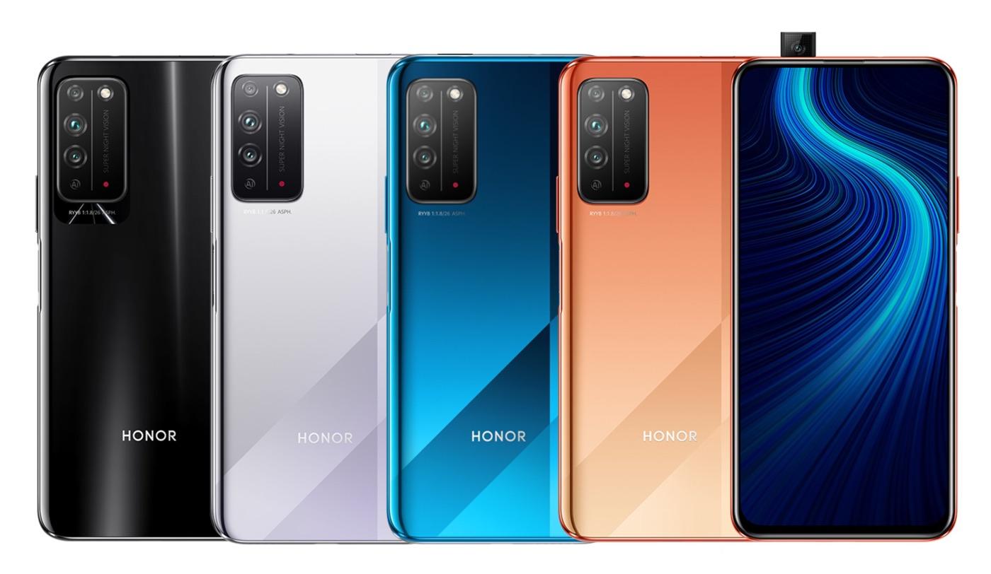 Honor X10 5G : une fuite révèle son design et sa fiche technique complète
