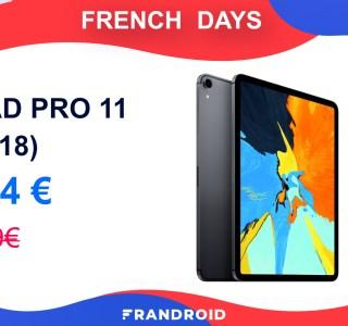 L'iPad Pro 11 (2018) n'a jamais été aussi abordable que pendant ces French Days
