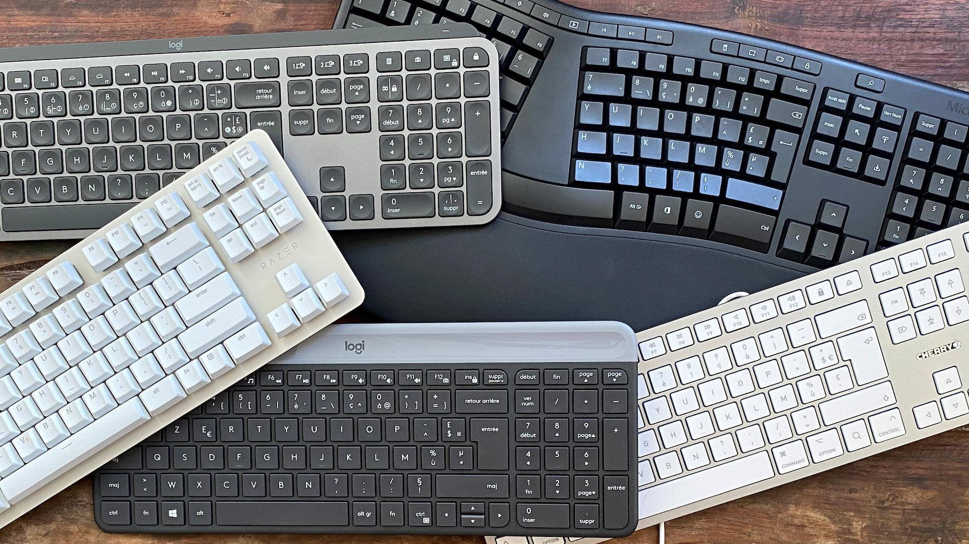 Quels sont les meilleurs claviers pour la bureautique ?