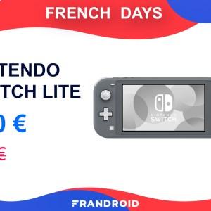 La console Nintendo Switch Lite baisse son prix pour les French Days