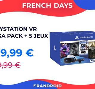 La VR est enfin abordable avec le pack PSVR + 5 jeux pendant les French Days