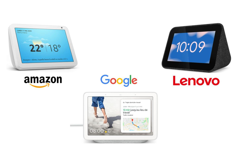 Les meilleurs Smart Display avec Google Assistant ou Amazon Alexa sont en promotion