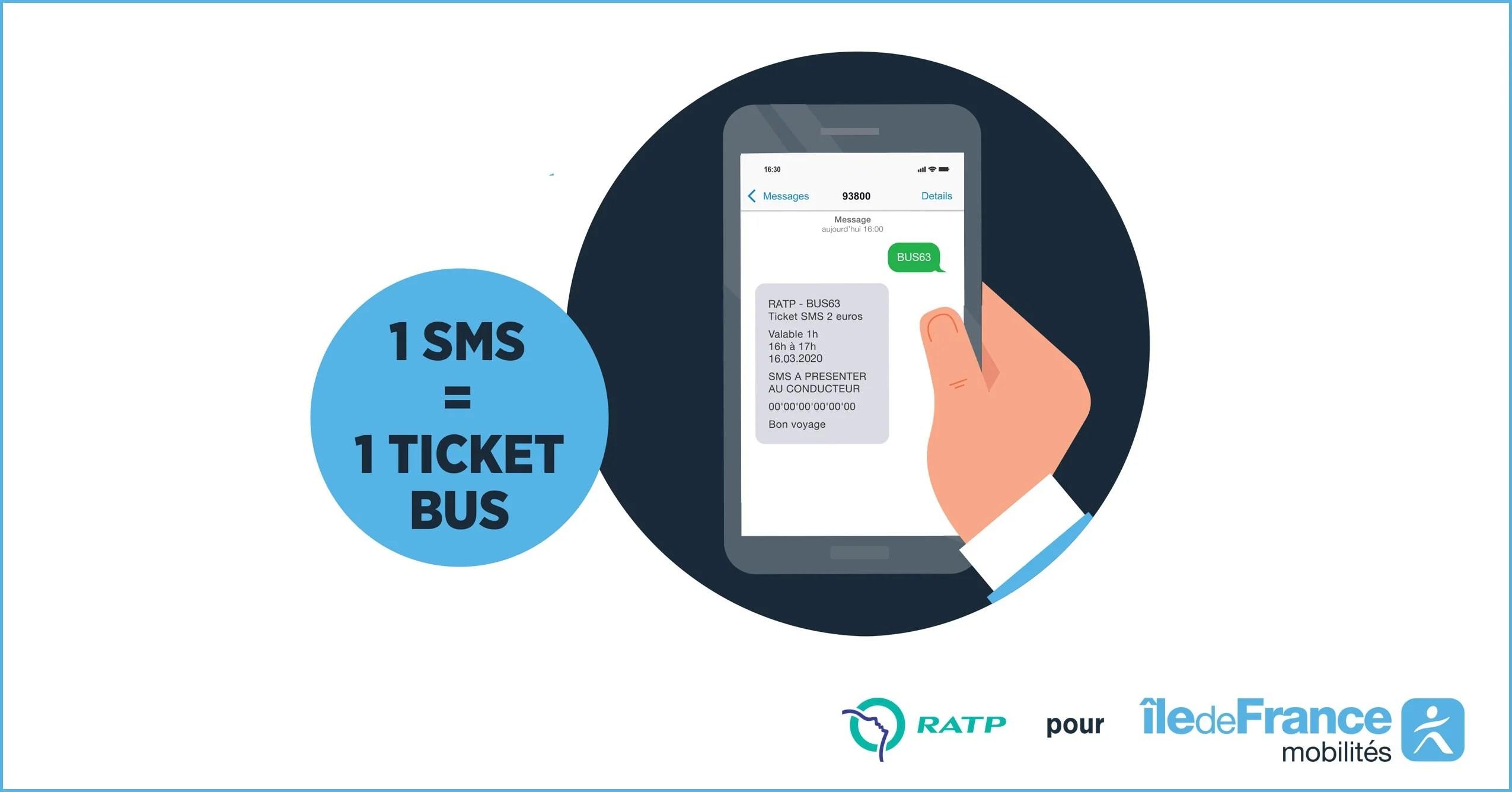 SMS Ticket Bus : comment acheter votre titre de transport sur votre smartphone ?