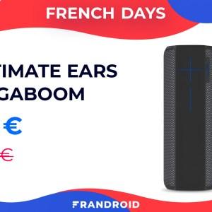 Montez le son avec l'enceinte Ultimate Ears Megaboom à -60 % pour les French Days